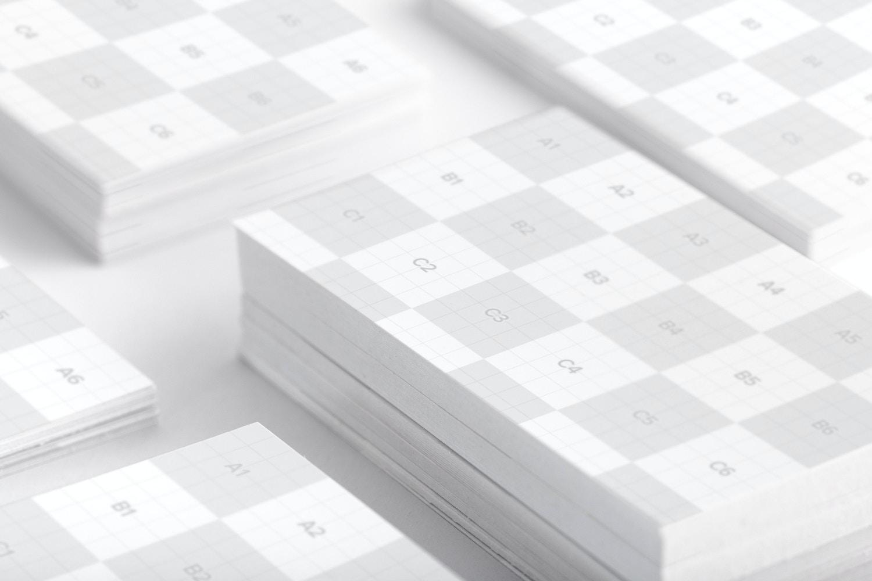 Business Cards Mockup 01 (2) por Original Mockups en Original Mockups
