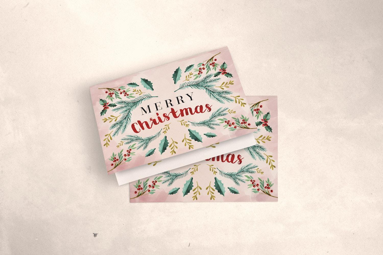 Greeting Card Mockup 04 por Original Mockups en Original Mockups