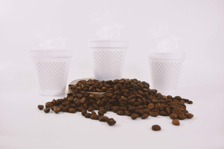 Coffee Cups Mockup (2) by Eduardo Mejia on Original Mockups