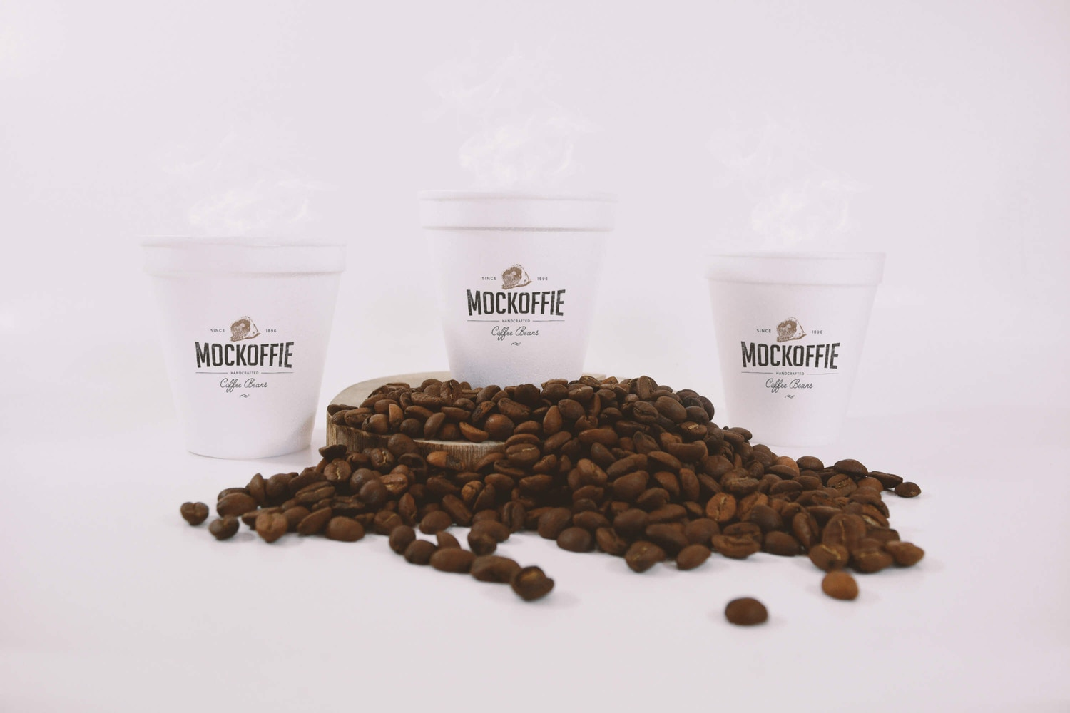 Coffee Cups Mockup by Eduardo Mejia on Original Mockups