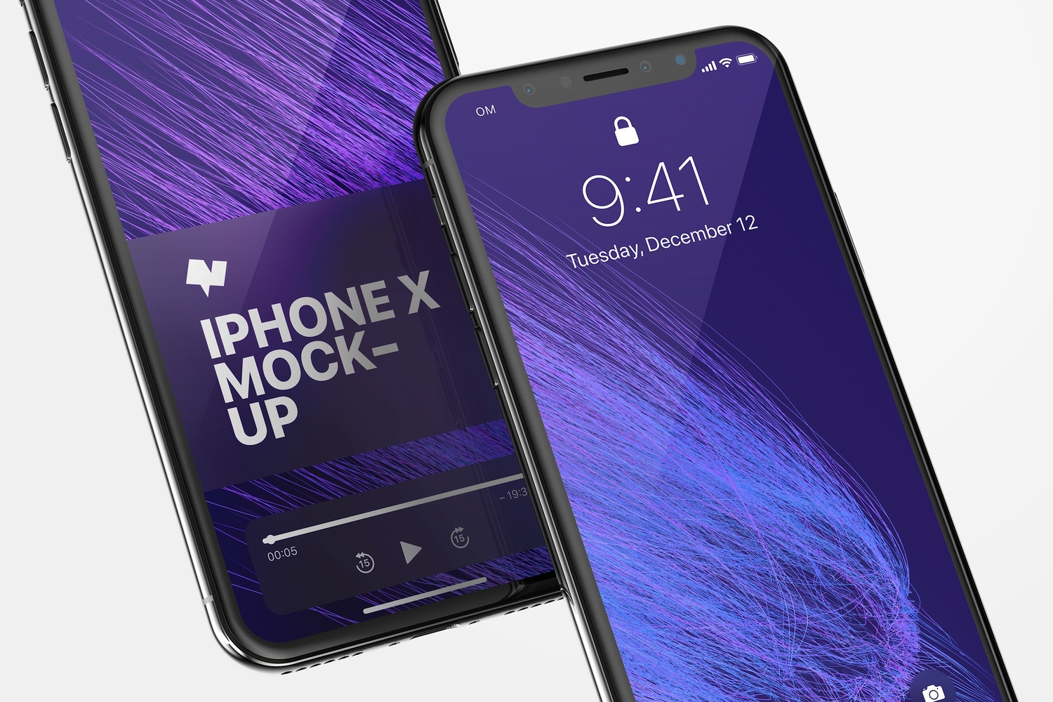 iPhone X Mockup 01 by Original Mockups on Original Mockups