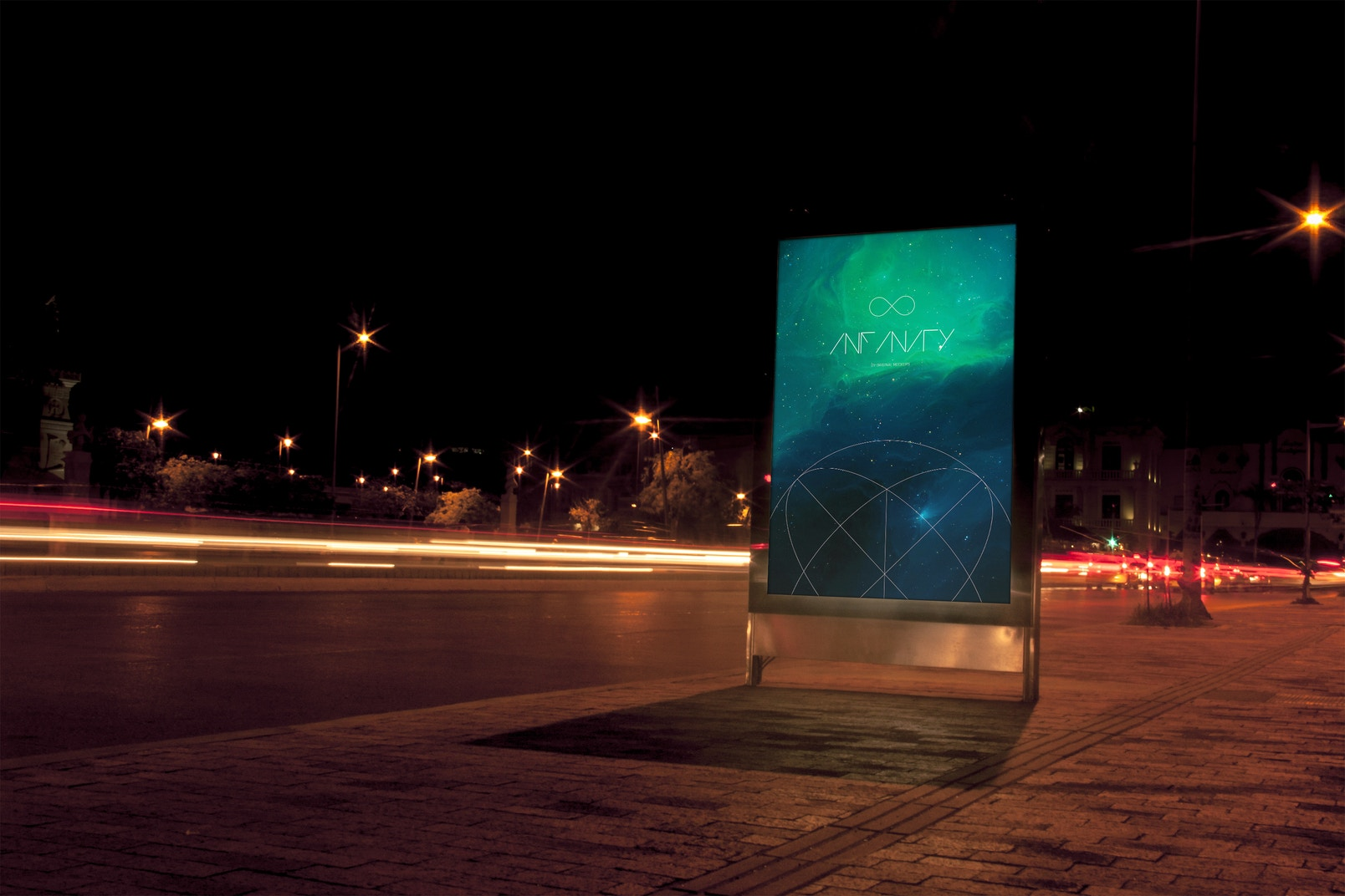 Mupi Billboard Mockup 1