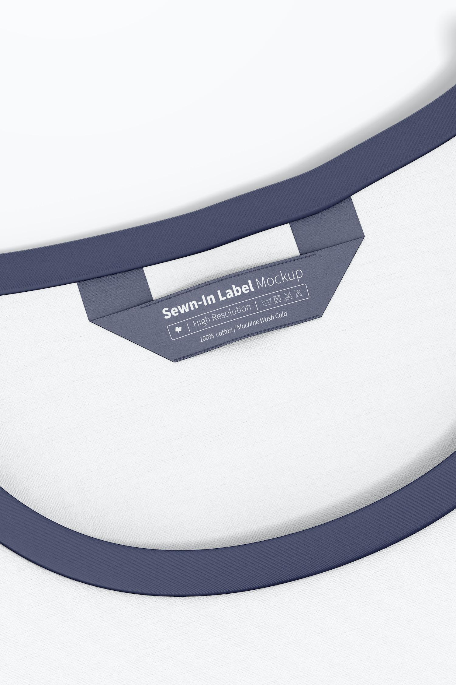 Sewn-In Label Mockup