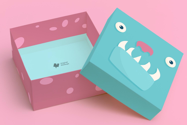 Big Gift Box Mockup 01