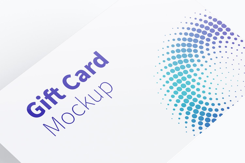 Gift Card Mockup 01 (4) by Original Mockups on Original Mockups