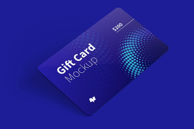 Gift Card Mockup 01 (5) by Original Mockups on Original Mockups
