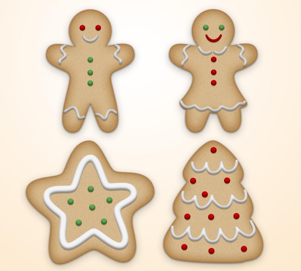 Christmas Cookie Alphabet (7) by Original Mockups on Original Mockups