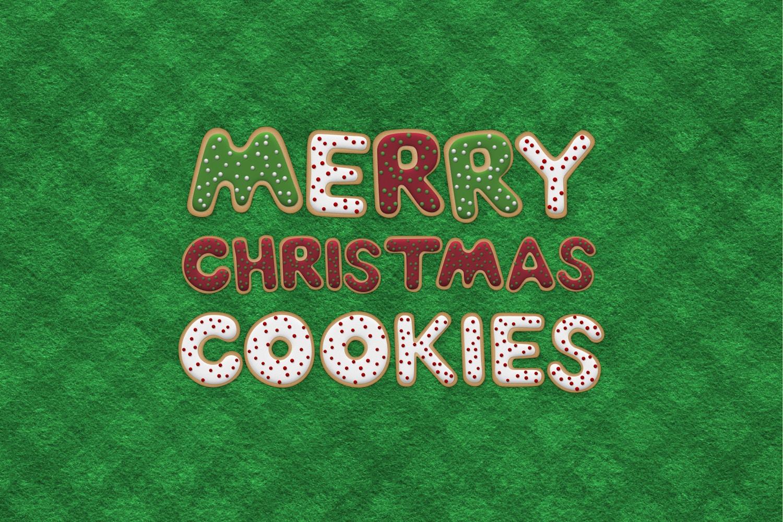 Christmas Cookie Alphabet (1) by Original Mockups on Original Mockups