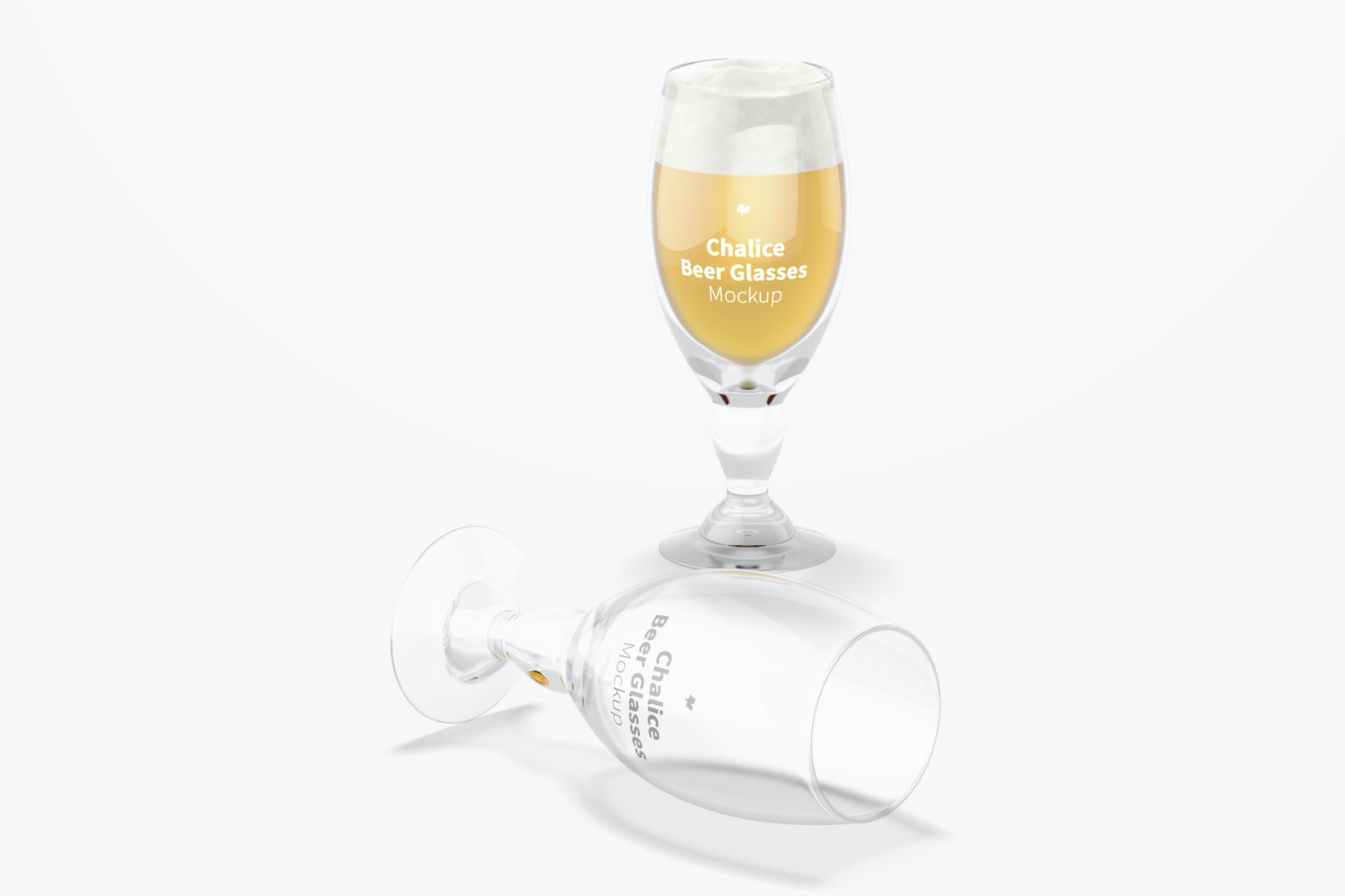 Chalice Beer Glass Mockup