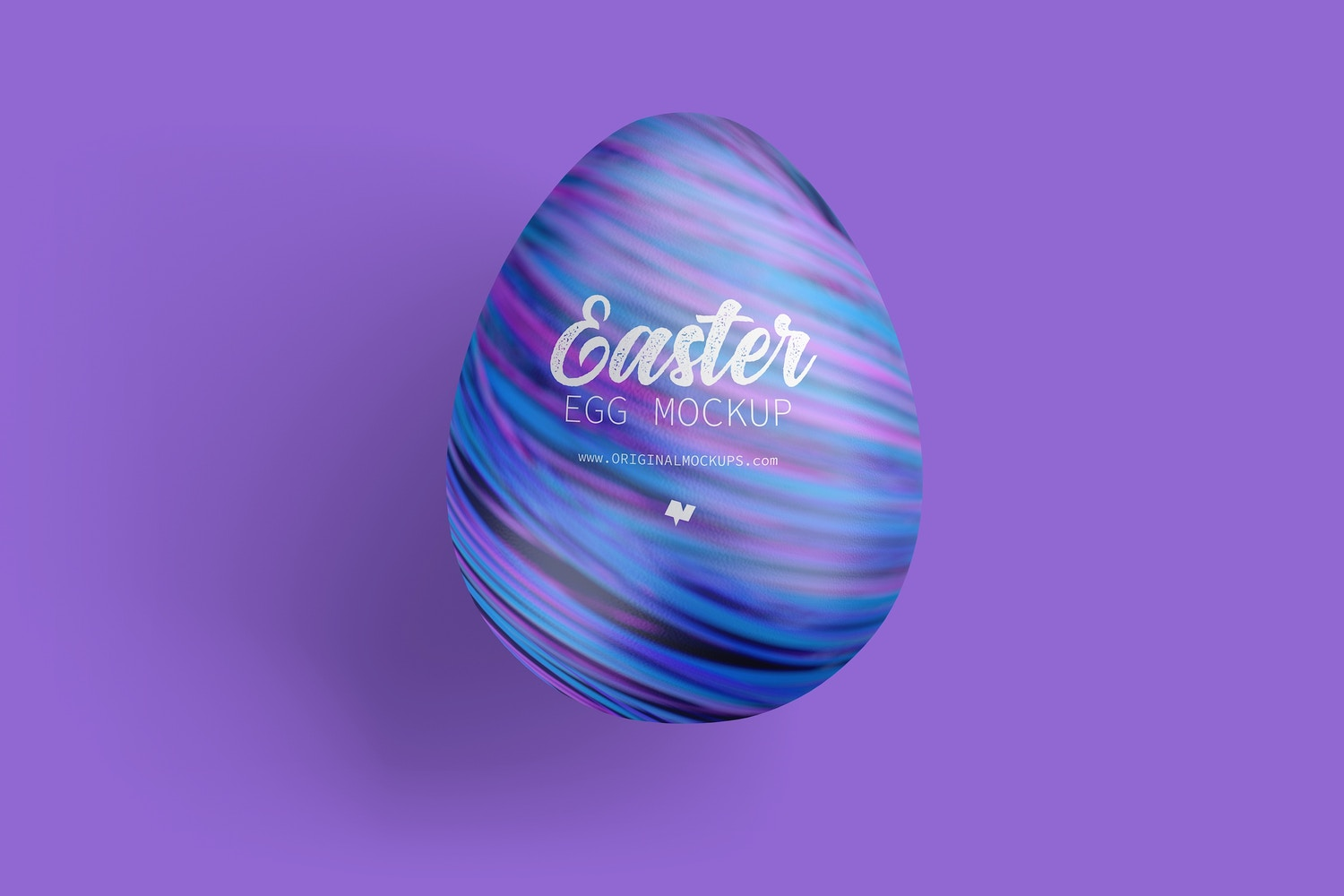 Easter Egg Mockup, Top View by Original Mockups on Original Mockups