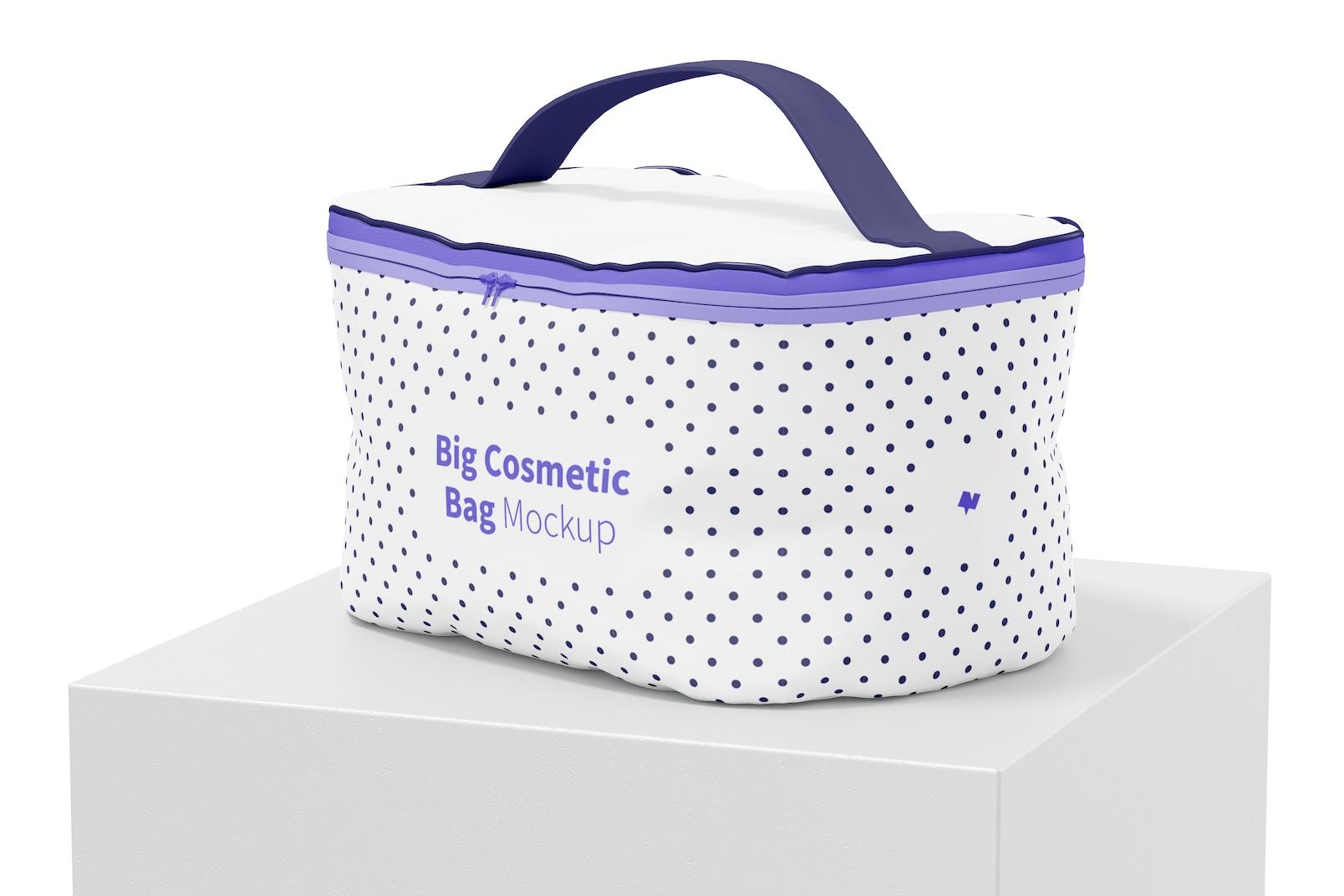 Big Cosmetic Bag Mockup
