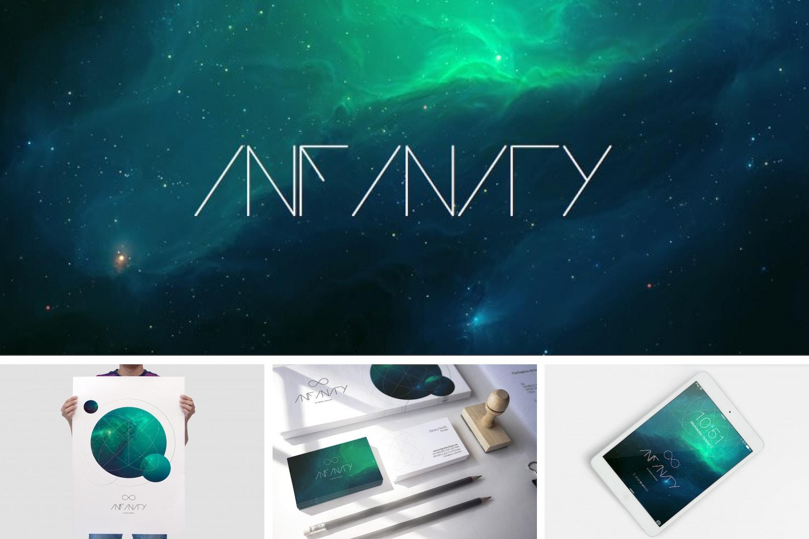 Infinity Mockup Bundle Poster