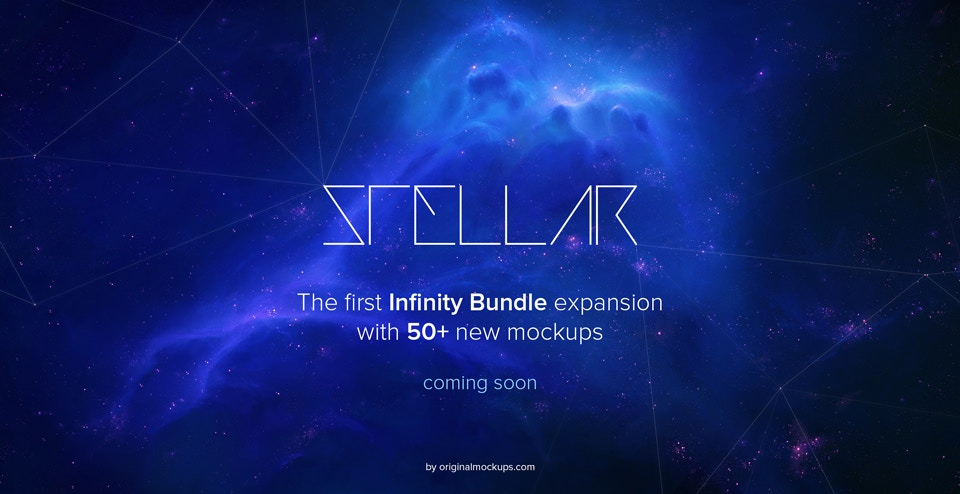 Stellar will be free for Infinity customers by Original Mockups on Original Mockups