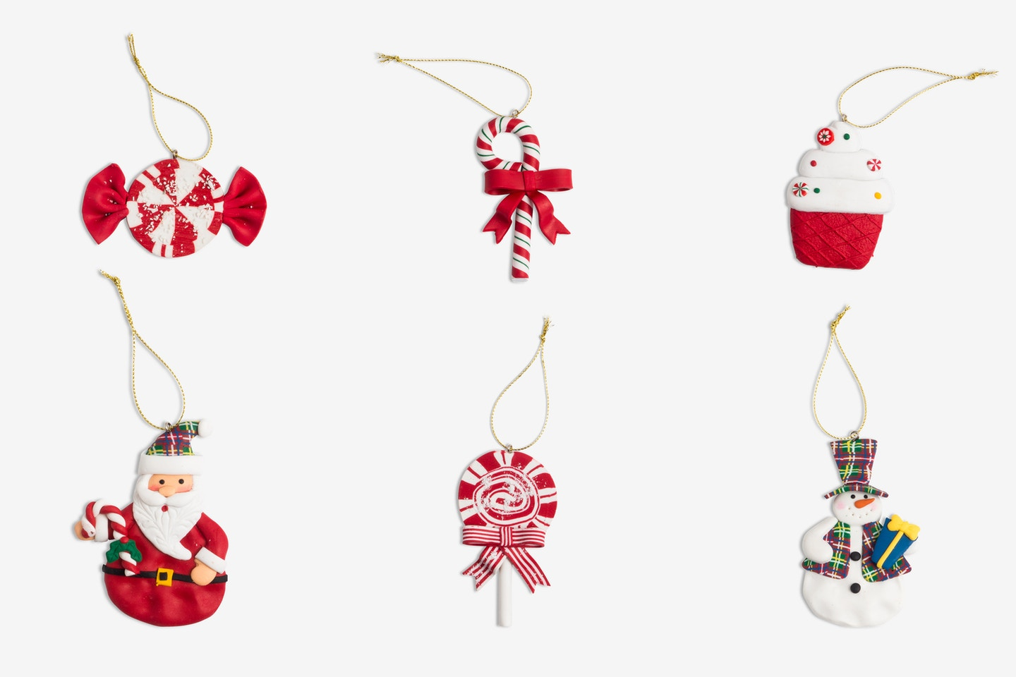 Christmas Decor Isolate Objects 01