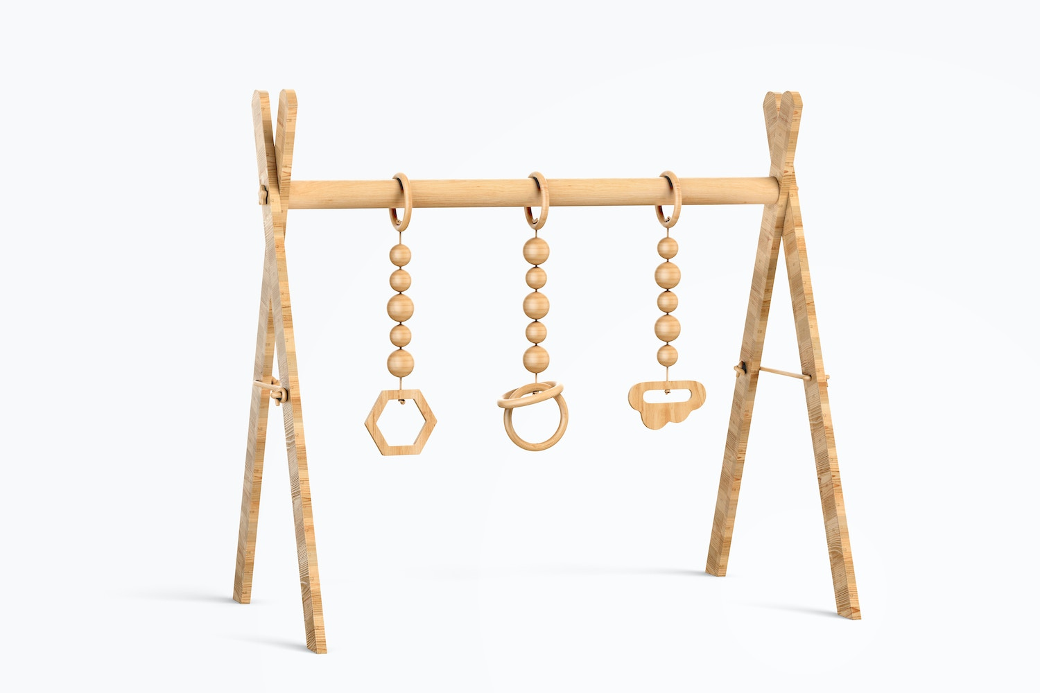 Baby Wooden Gym Mockup