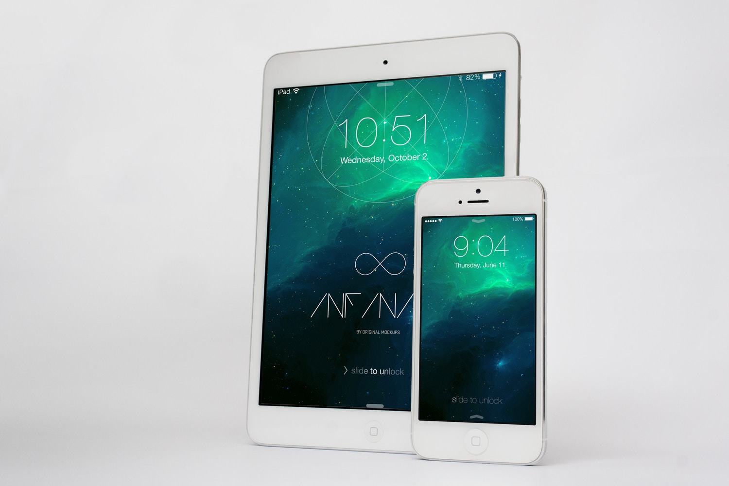 iPhone & iPad Mockup 2 by Original Mockups on Original Mockups