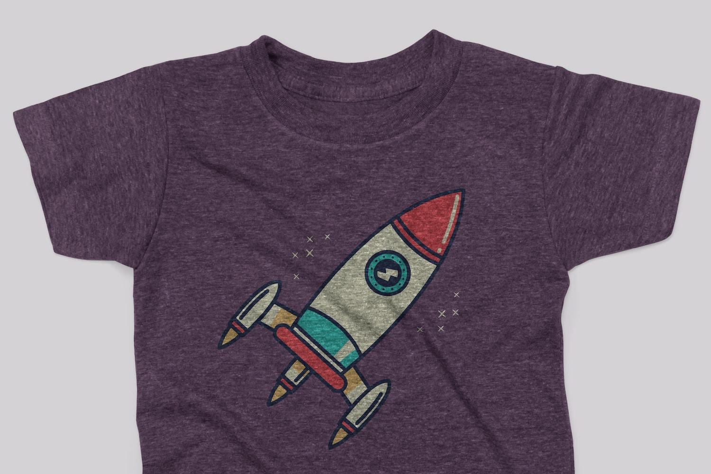 Kids Triblend T-shirt Mockup Pack por Antonio Padilla en Original Mockups