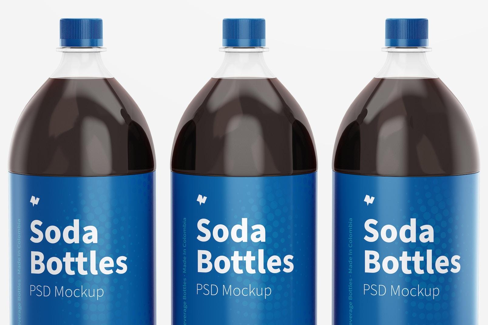 1.5L Pepsi Bottles Mockup