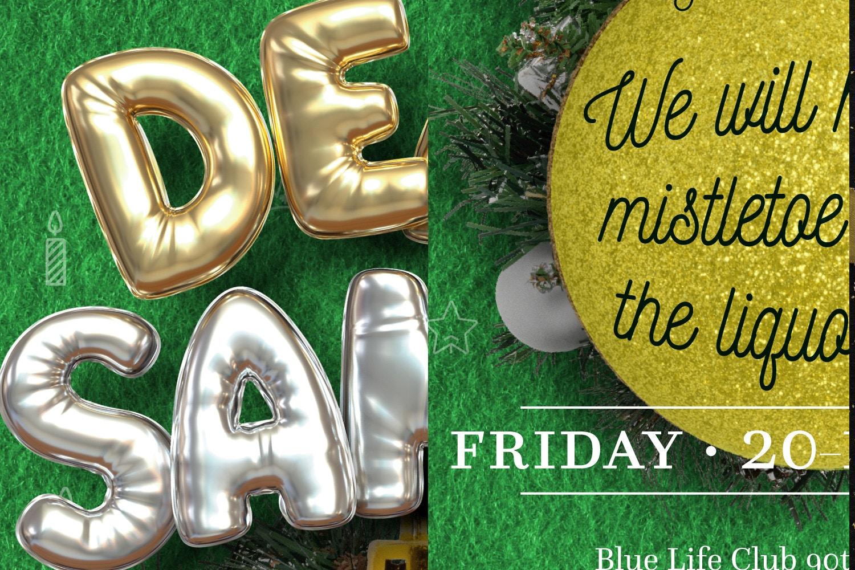 Balloon Party, Christmas Flyer Template 4 by Original Mockups on Original Mockups
