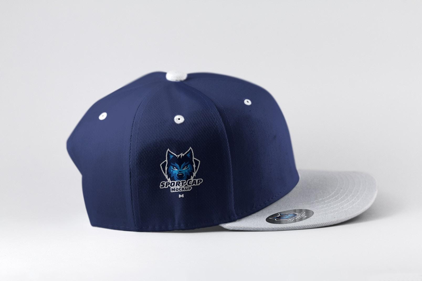 Sports Cap Side View Mockup 01