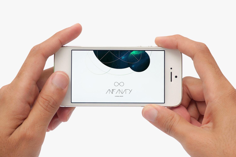 iPhone Mockup 2 by Original Mockups on Original Mockups