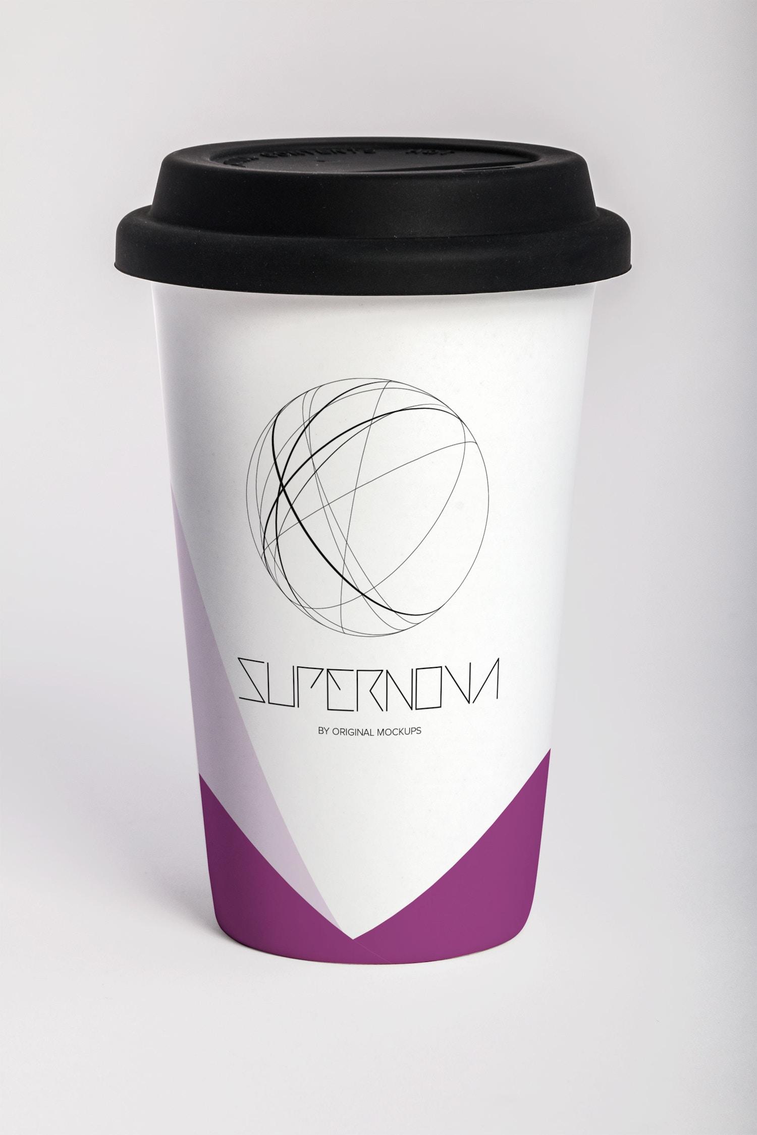 Coffee Mug PSD Mockup 03