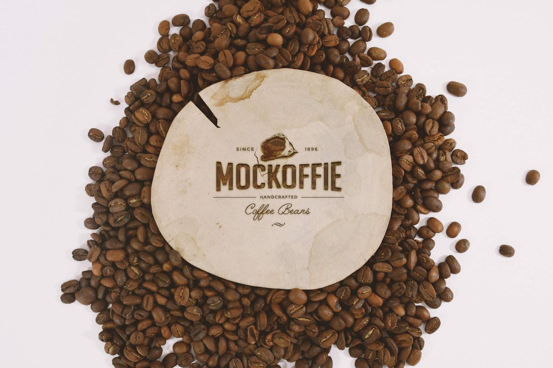 Engraved Wood Logo Mockup