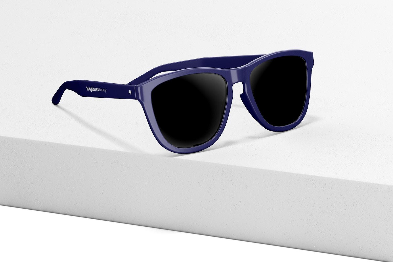 Sunglasses Mockup, Left View