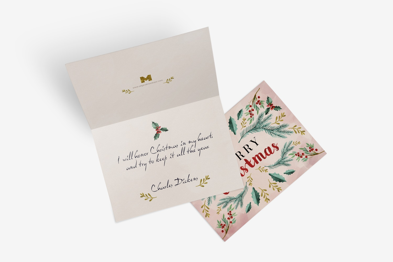 Greeting Card Mockup 03 by Original Mockups on Original Mockups