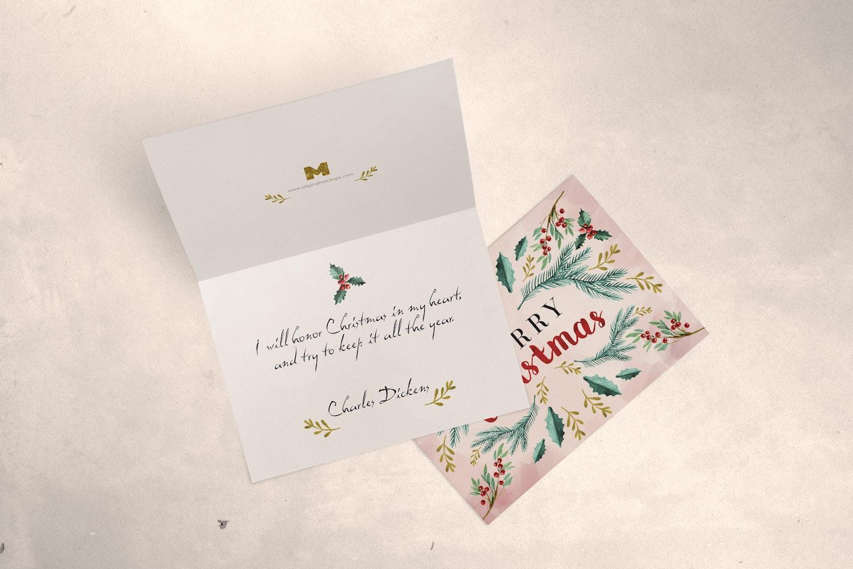Greeting Card Mockup 03