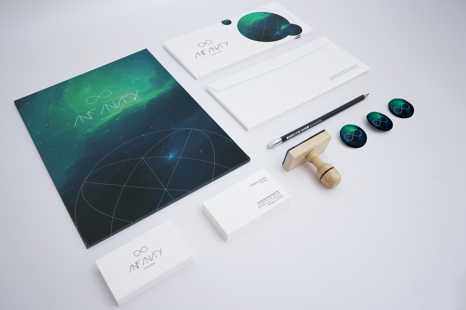 Stationery Mockup 1 by Original Mockups on Original Mockups