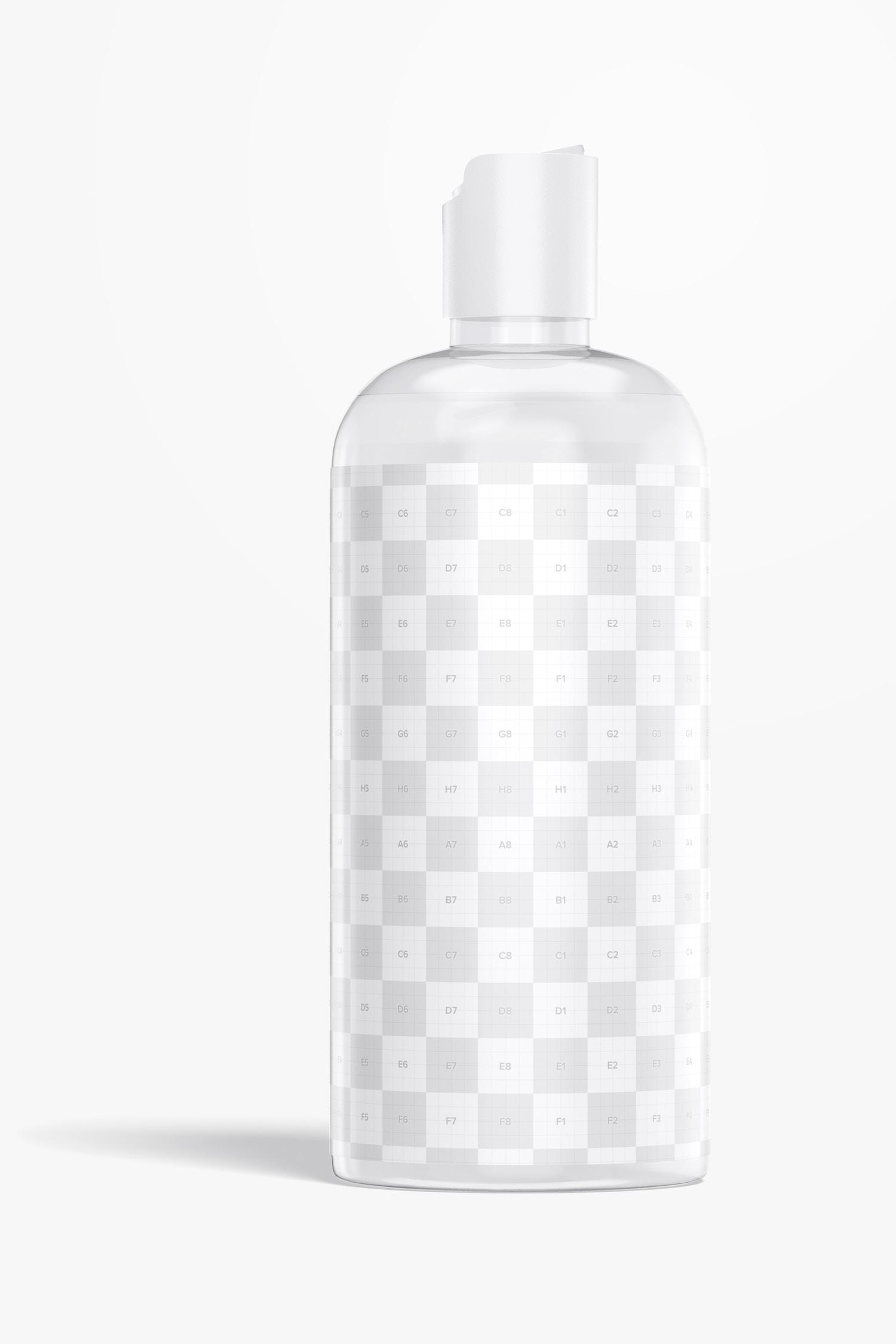 Plastic Body Wash Bottle Mockup
