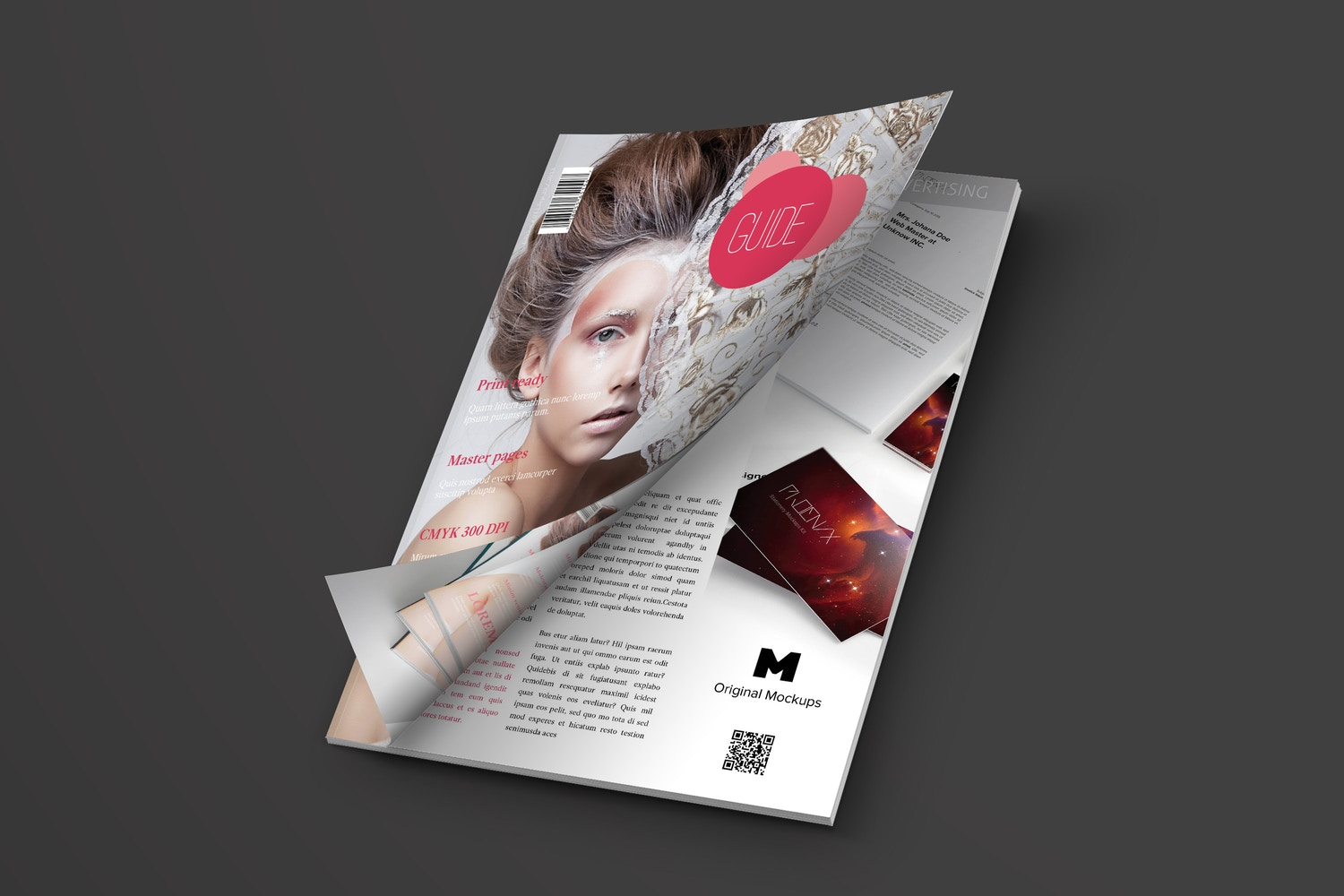 Background Customizable, use the color you want to enhance the Magazine Layout. Design By: Pagephilia