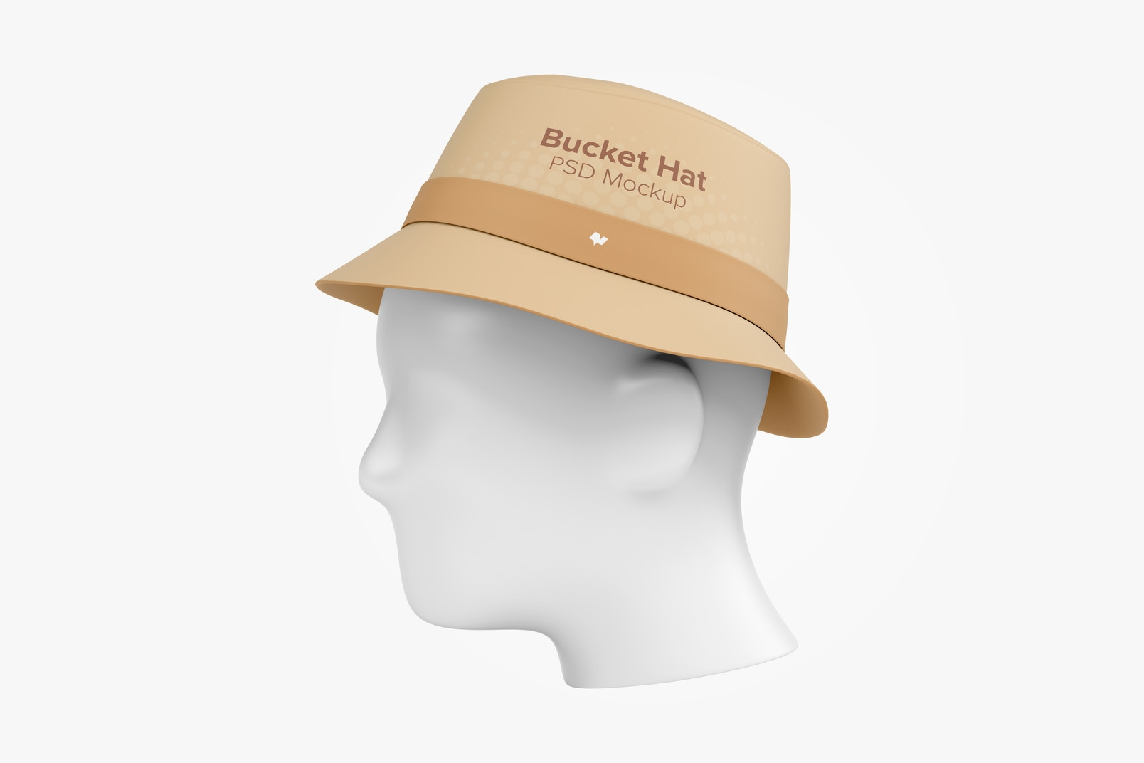 Bucket Hat Mockup, Right View
