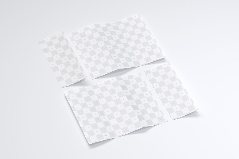 Letter Z Fold Brochure Mockup 04 (3) by Original Mockups on Original Mockups