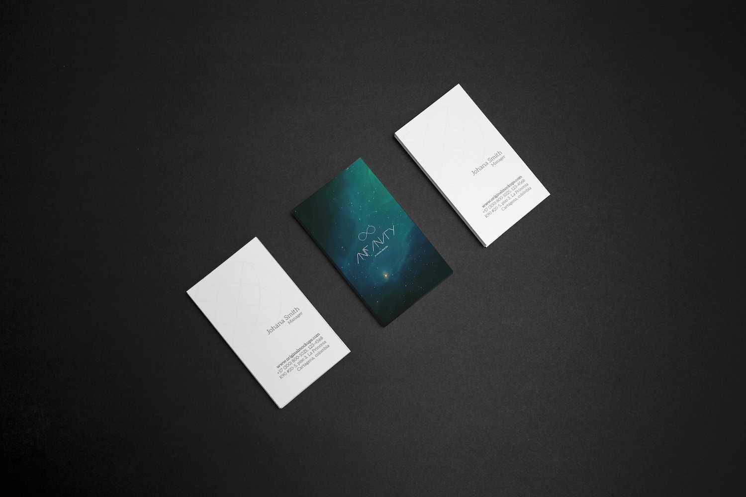 Business Card Mockup 6 by Original Mockups on Original Mockups