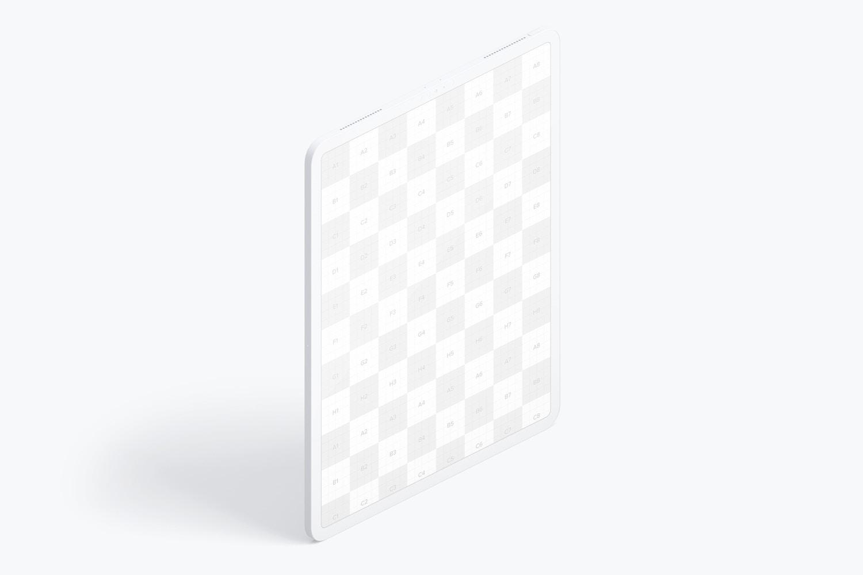 """Maqueta de iPad Pro 12.9"""" Multicolor, Vista Derecha Isométrica 02 (2) por Original Mockups en Original Mockups"""