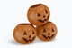 Ceramic Halloween Pumpkins Mockup, Stacked