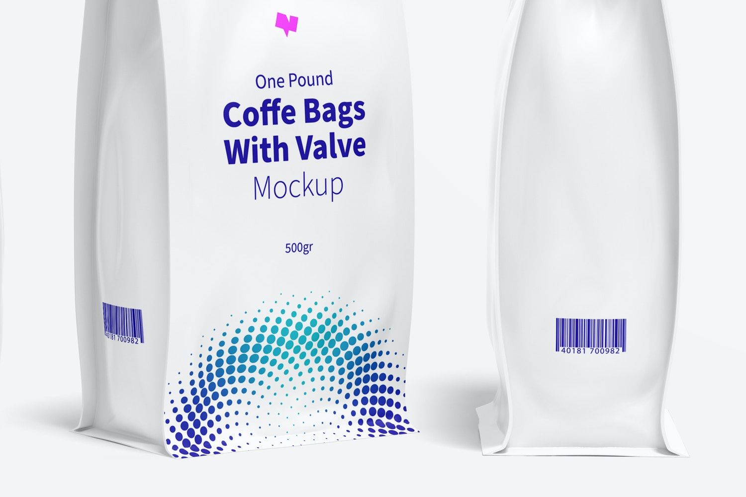 Notice how photorealistic the folds at the bottom of the bag look.