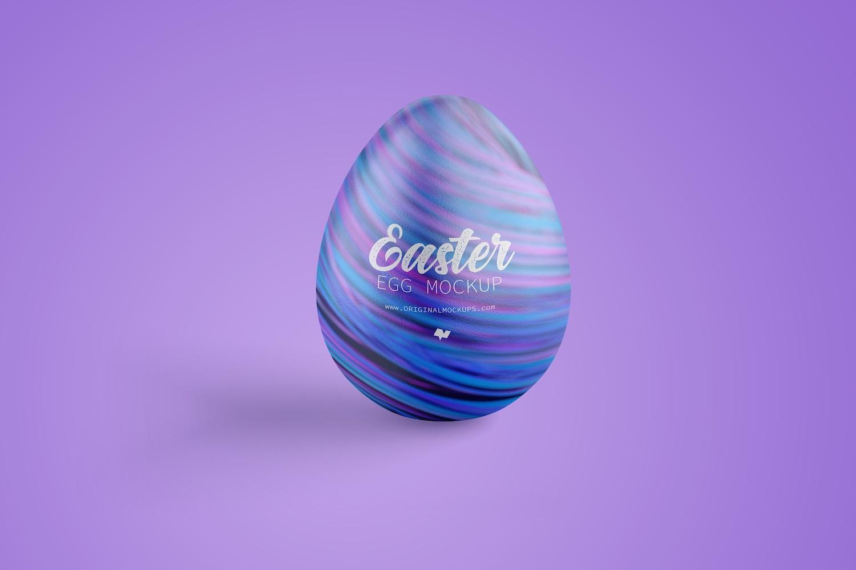 Easter Egg Mockup, Front View (1) by Original Mockups on Original Mockups