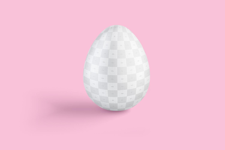 Easter Egg Mockup, Front View (2) by Original Mockups on Original Mockups