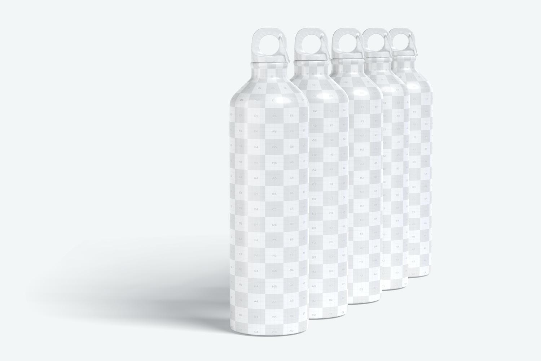 Aprovecha el espacio editable de cada botella y dale rienda suelta a tu imaginación.