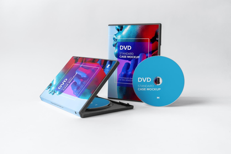 Standard DVD Case Mockup 02 by Original Mockups on Original Mockups