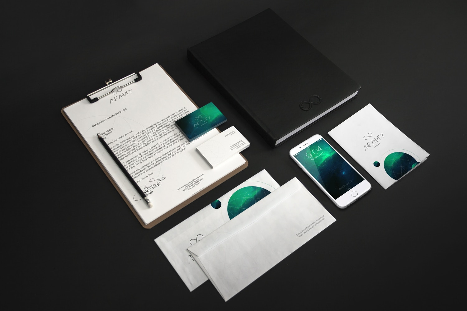 Stationery Mockup 6 by Original Mockups on Original Mockups