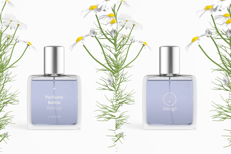 Perfume Bottle Mockup
