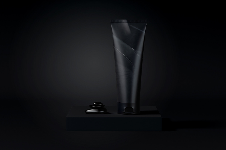 Maqueta de Crema Cosmética 01