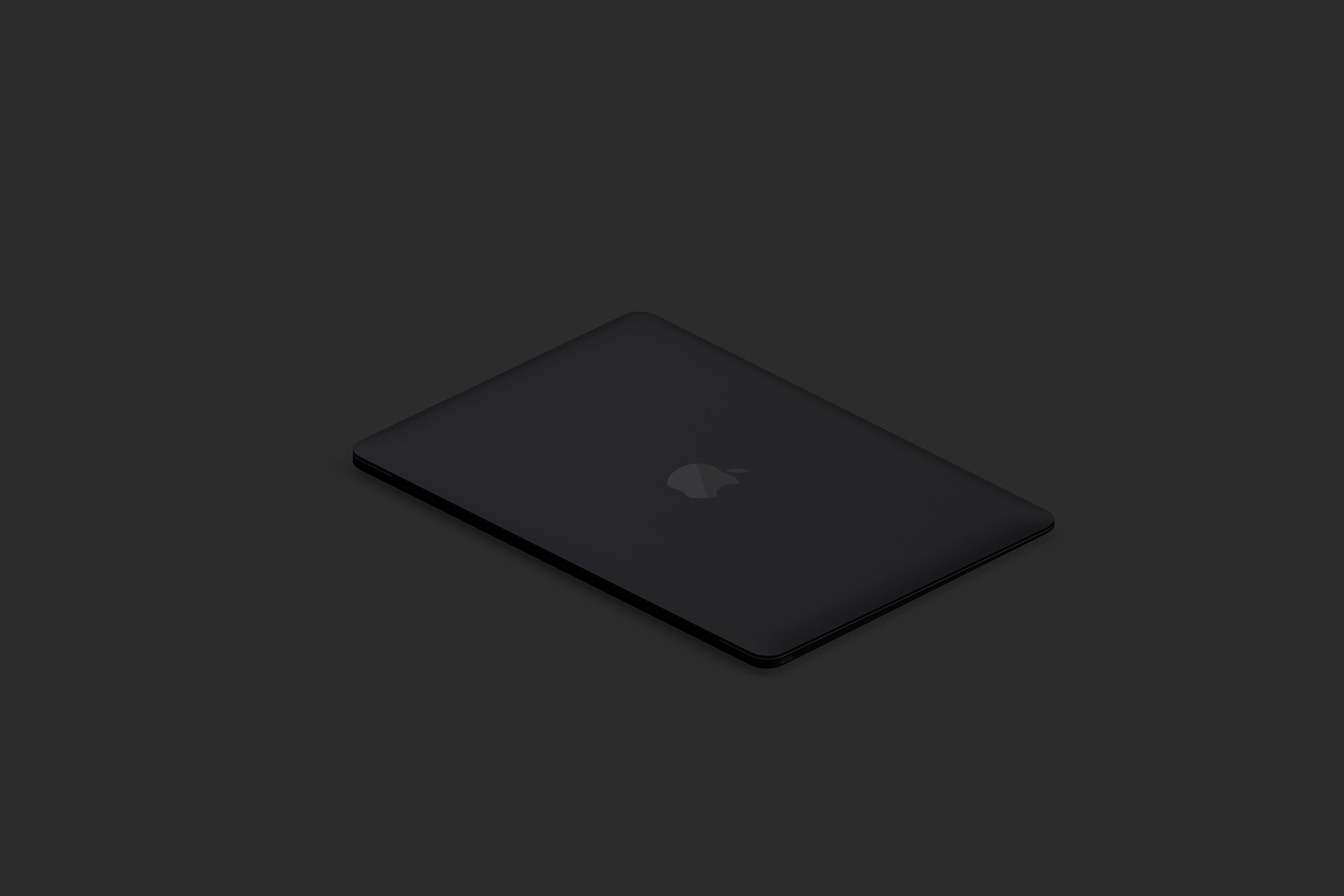 Clay MacBook Mockup, Isometric Right View 03 (5) by Original Mockups on Original Mockups