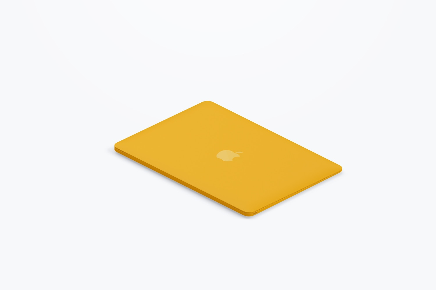 Clay MacBook Mockup, Isometric Right View 03 (4) by Original Mockups on Original Mockups