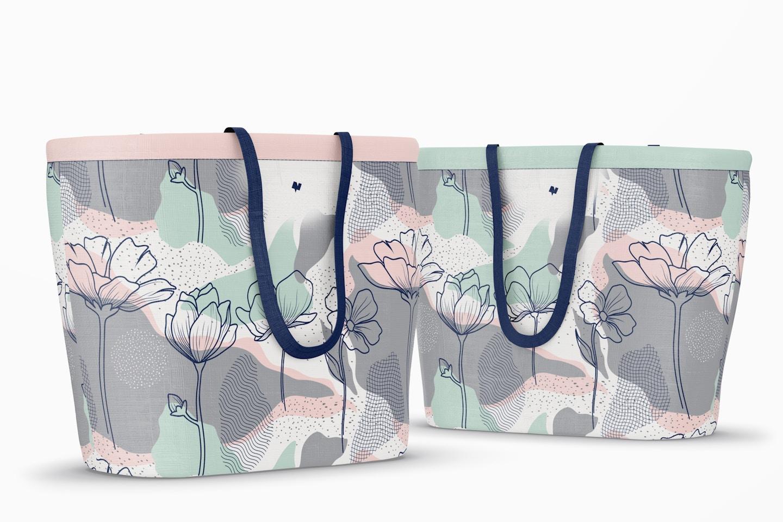 Designer Shopping Bags Mockup