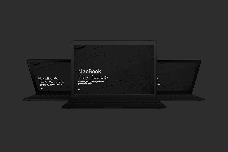 Maqueta de MacBook Multicolor, Vista Frontal 03 (5) por Original Mockups en Original Mockups